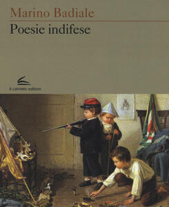 Poesie indifese - Marino Badiale - copertina