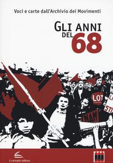 Gli anni del '68 - copertina