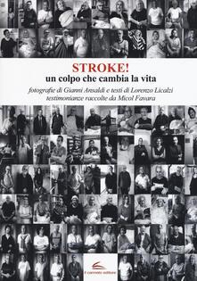 Stroke! Un colpo che cambia la vita. Ediz. illustrata - Gianni Ansaldi,Lorenzo Licalzi - copertina