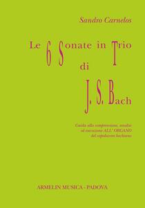 Le 6 sonate in trio di J. S. Bach. Guida alla comprensione, analisi ed esecuzione all'organo del capolavoro bachiano