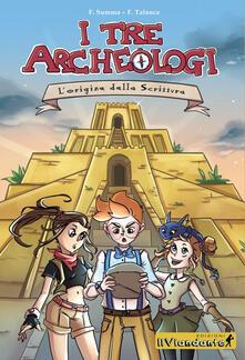 Antondemarirreguera.es L' origine dalla scrittura. I tre archeologi Image