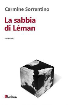 La sabbia di Léman - Carmine Sorrentino - copertina