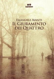 Il giuramento dei quattro - Emanuele Avanti - copertina