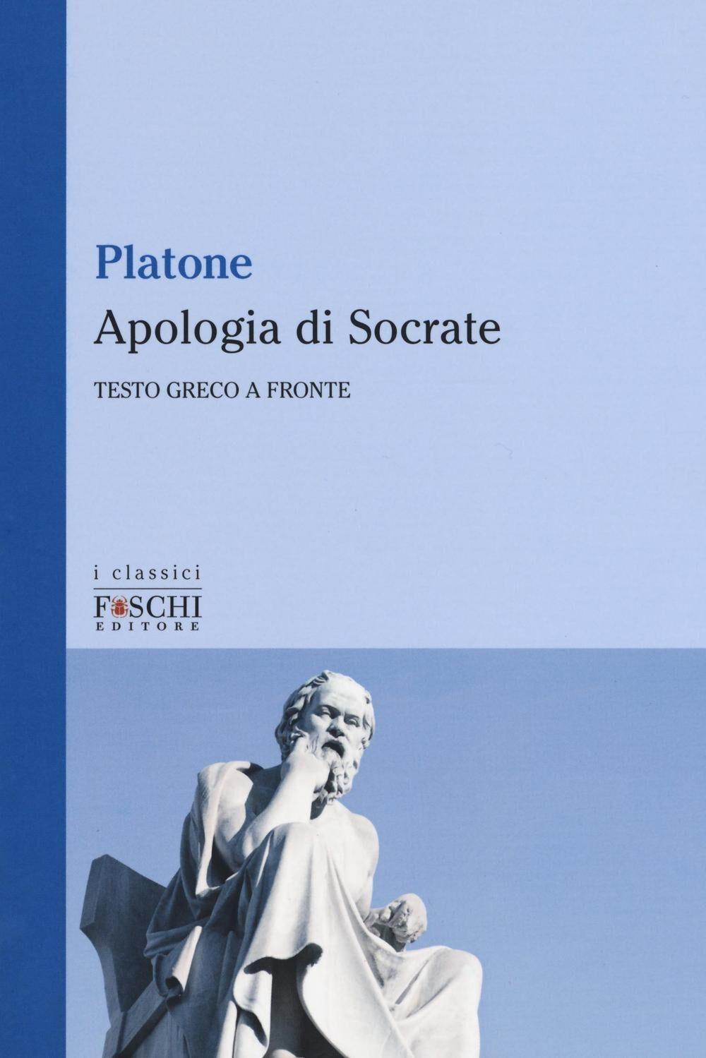 Apologia di Socrate. Testo greco a fronte