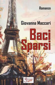 Baci sparsi - Giovanna Maccari - copertina