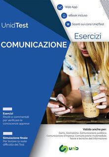 Eserciziario commentato per il test di ammissione a Comunicazione. Con ebook. Con Contenuto digitale per accesso on line.pdf