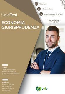 Lpgcsostenible.es Manuale di teoria per i test di ammissione a Economia e Giurisprudenza. Con ebook. Con Contenuto digitale per accesso on line Image