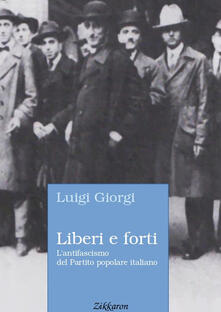 Antondemarirreguera.es Liberi e forti. L'antifascismo del Partito popolare italiano Image
