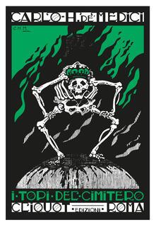 I topi del cimitero - Carlo H. De' Medici - copertina