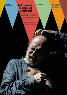 Equilibrifestival.it L' America di Elio De Capitani. Interpretare Roy Cohn, Richard Nixon, Willy Loman, Mr Berlusconi Image