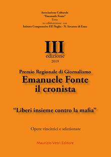 Squillogame.it Premio regionale di giornalismo Emanuele Fonte il cronista. «Liberi insieme contro la mafia» III edizione 2019 Image