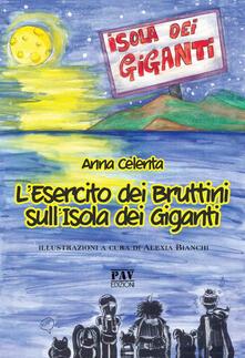 L' esercito dei Bruttini sull'Isola dei Giganti - Anna Celenta - copertina