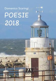 Poesie 2018 - Domenico Scaringi - copertina