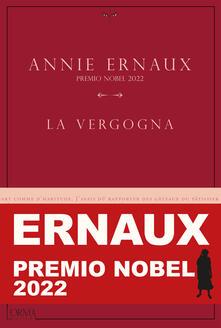 La vergogna - Annie Ernaux - copertina