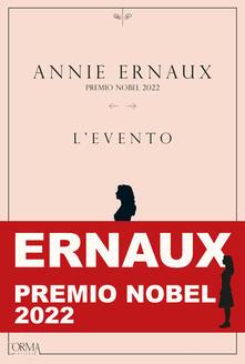L' evento - Annie Ernaux - copertina