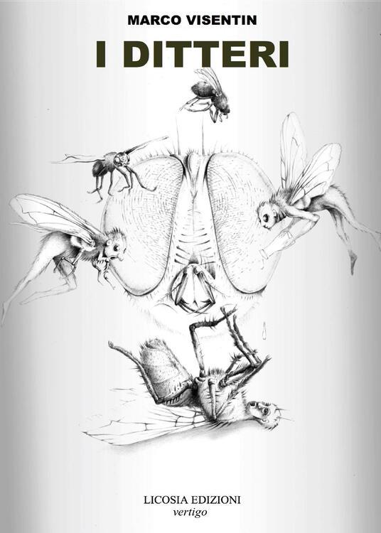 I ditteri - Marco Visentin - copertina