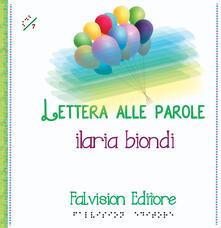 Premioquesti.it Lettera alle parole. Ediz. a caratteri grandi Image