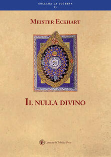 Il nulla divino - Meister Eckhart - copertina