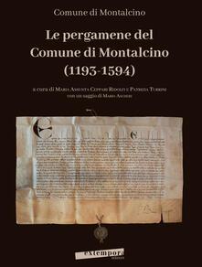 Premioquesti.it Le pergamene del Comune di Montalcino (1193-1594) Image