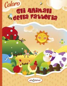 Librisulladiversita.it Coloro gli animali della fattoria. Ediz. illustrata Image