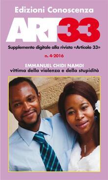 ART33 (2016). Vol. 4 - Edizioni Conoscenza - ebook