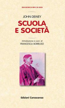 Scuola e società - John Dewey - copertina