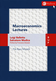 Macroeconomics lessons - Luigi Balletta,Salvatore Modica - copertina
