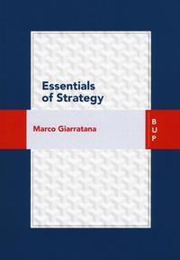 Essentials of strategy - Giarratana Marco - wuz.it
