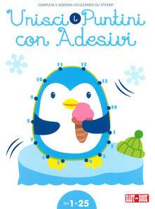 Pinguino. Unisci i puntini 1-25. Con adesivi. Ediz. illustrata.pdf