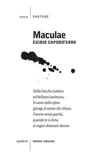 Maculae - Egidio Capodiferro - copertina