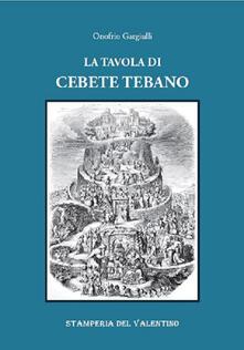Radiospeed.it La Tavola di Cebete Tebano Image