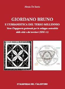 Radiospeed.it Giordano Bruno e l'urbanistica del Terzo Millennio. Verso l'Ingegneria gestionale per lo sviluppo sostenibile delle città e dei territori (SDG 11) Image