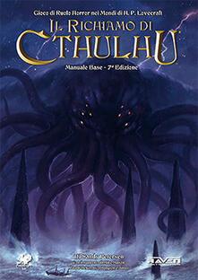 Il richiamo di Chtulhu. Manuale base - Sandy Petersen,Mike Mason,Paul Fricker - copertina