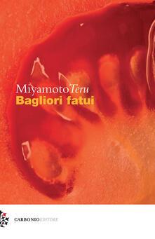 Bagliori fatui - Teru Miyamoto - copertina