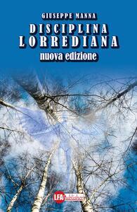 Disciplina lorrediana - Giuseppe Manna - copertina