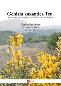 Genista anxantica Ten. Proposta per la rielezione a specie di una endemica senza carta d'identità - Franca Molinaro - copertina