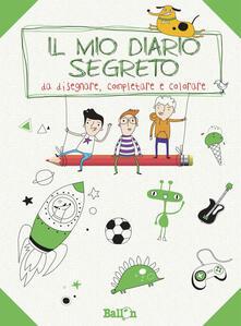Antondemarirreguera.es Il mio diario segreto da disegnare, completare e colorare. Ragazzo. Ediz. illustrata Image
