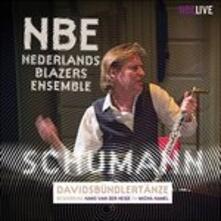 Davidsbundlertanze - CD Audio di Nederlands Blazers Ensemble
