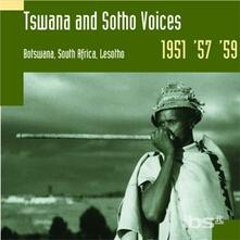 Tswana and Sotho Voices - CD Audio
