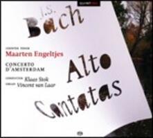 Cantate per contralto - SuperAudio CD ibrido di Johann Sebastian Bach,Maarten Engeltjes