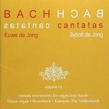 Cantate vol.3 - CD Audio di Johann Sebastian Bach