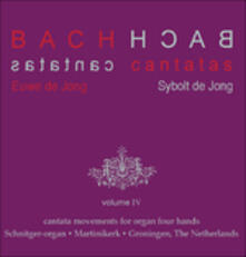 Cantatas vol.4 - CD Audio di Johann Sebastian Bach