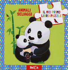 Secchiarapita.it Animali selvaggi. Il mio primo libro puzzle. Ediz. a colori Image