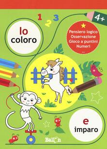 Io coloro e imparo 4+. Ediz. a colori.pdf