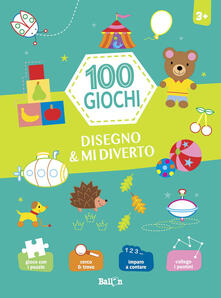 Cefalufilmfestival.it Coloro & mi diverto. Verde. 100 giochi. Ediz. a colori Image