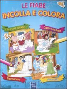Winniearcher.com Le fiabe incolla e colora. Con adesivi Image