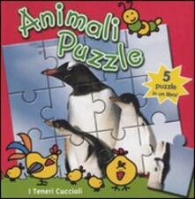 I teneri cuccioli. Animali puzzle.pdf
