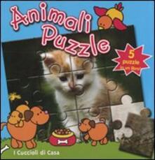 Cocktaillab.it I cuccioli di casa. Animali puzzle Image