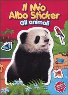 Winniearcher.com Il mio albo sticker. Gli animali. Panda. Con adesivi Image