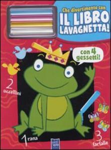 Warholgenova.it Il re ranocchio. Che divertimento con il libro lavagnetta. Con gadget Image